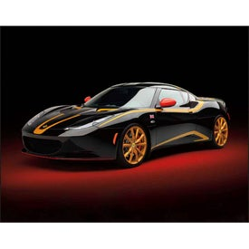 Exotic Sports Cars Spiral Calendar for Advertising