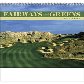 Fairways and Greens Spiral Calendar for Your Organization