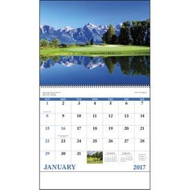 Fairways and Greens Spiral Calendar Giveaways