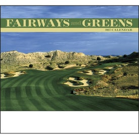 Custom Fairways and Greens Stapled Calendar