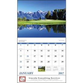 Fairways and Greens Stapled Calendar for Your Organization
