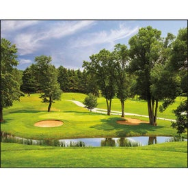 Advertising Fairways and Greens Stapled Calendar
