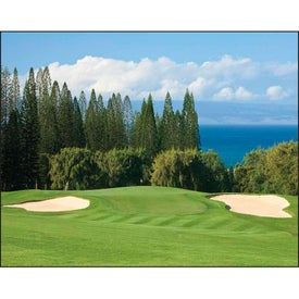 Fairways and Greens Stapled Calendar for Advertising