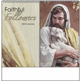 Promotional Faithful Followers Spiral Calendar