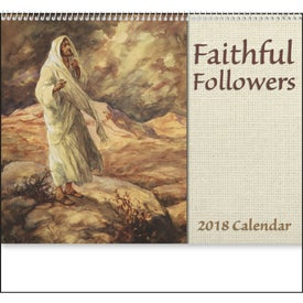 Faithful Followers Spiral Calendar for Customization