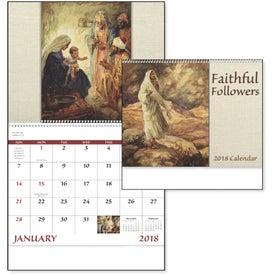 Branded Faithful Followers Spiral Calendar