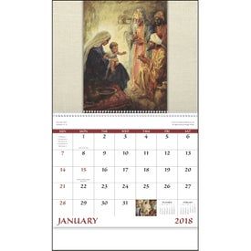 Logo Faithful Followers Spiral Calendar