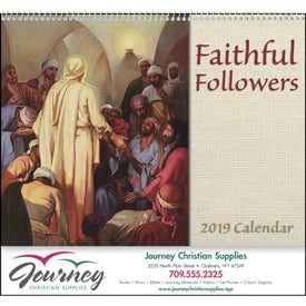 Faithful Followers Spiral Calendar