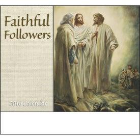 Faithful Followers Stapled Calendar for Your Church