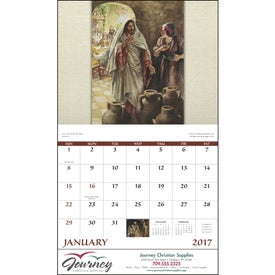 Faithful Followers Stapled Calendar for Your Organization