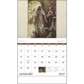 Logo Faithful Followers Stapled Calendar