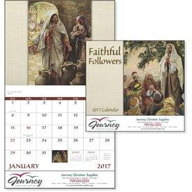 Faithful Followers Stapled Calendar for Customization