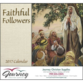 Faithful Followers Stapled Calendar (2017)