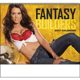 Fantasy Builders Spiral Calendar for Promotion