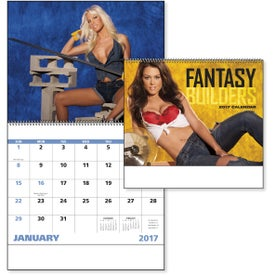 Fantasy Builders Spiral Calendar for Your Church