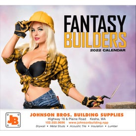 Personalized Fantasy Builders Stapled Calendar
