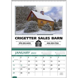 Customizable Farm Pocket Calendar (2014)