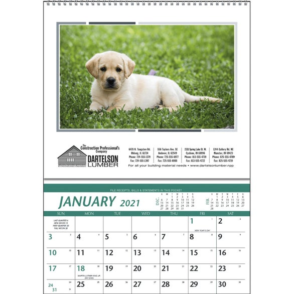 See Item Farm Pocket Calendar