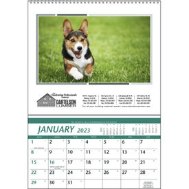 Branded Farm Pocket Calendar