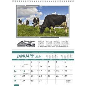 Branded Farm Pocket Calendar