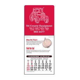 Farmers' Almanac Super Size Press N Stick Calendar
