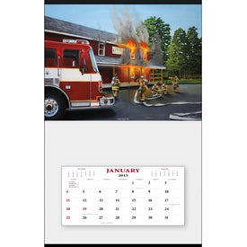 Fire Hanger Calendar with Your Logo