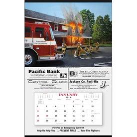 Printed Fire Hanger Calendar
