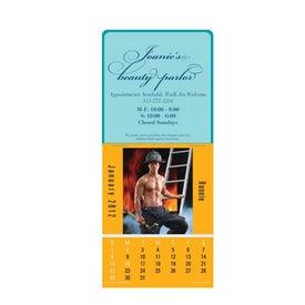 Firemen Super Size Press N Stick Calendar