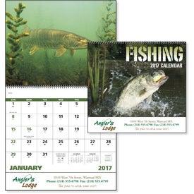 Fishing Spiral Calendar for Marketing