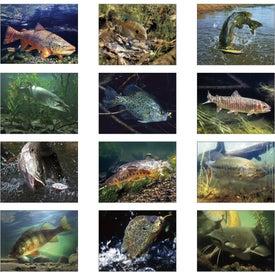 Fishing - Spiral Calendar for Customization