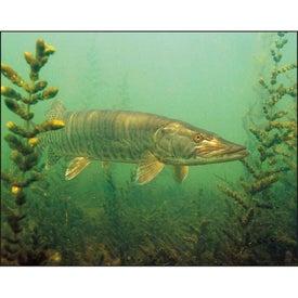 Monogrammed Fishing - Spiral Calendar