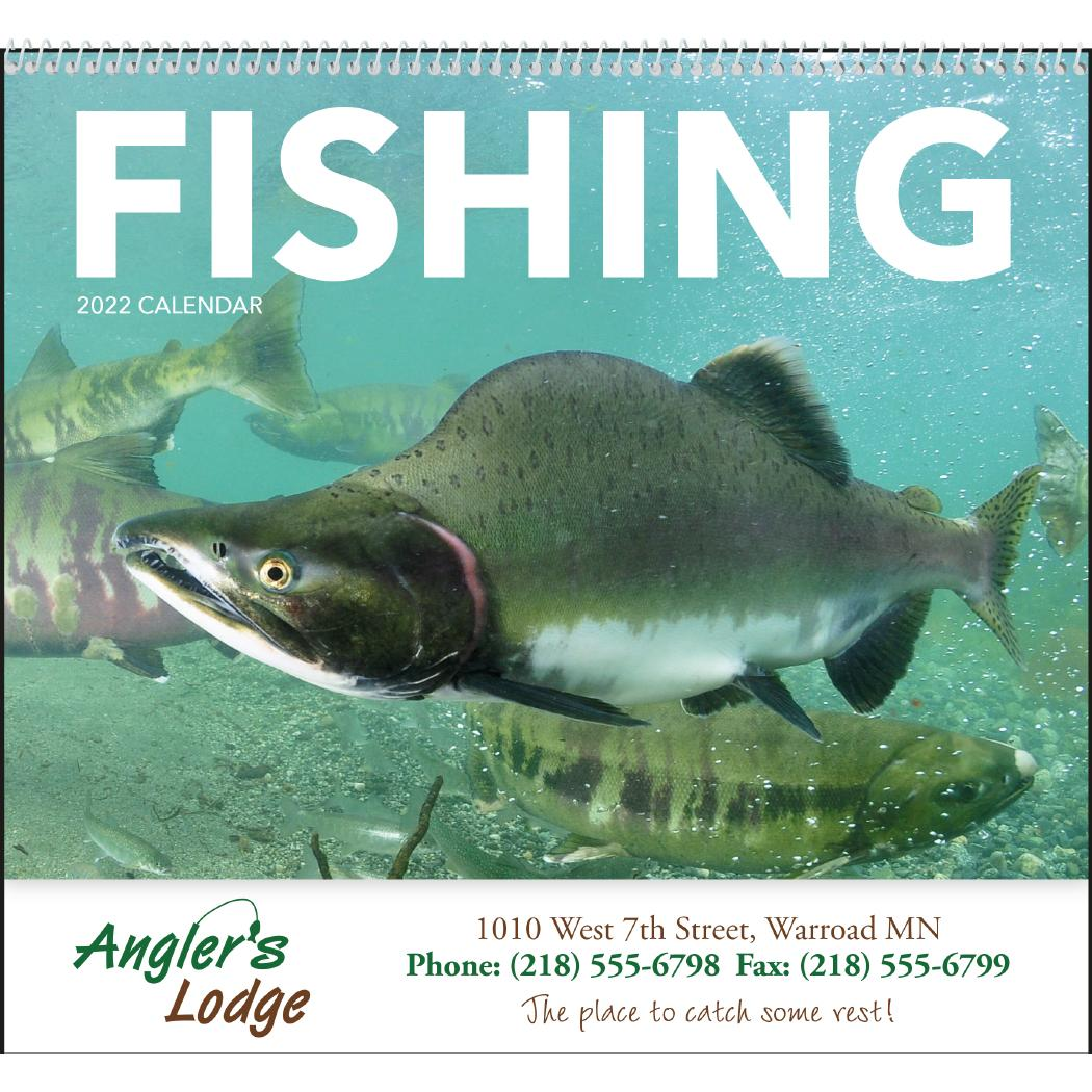 Promo Fishing Calendars 2022 Spiral Calendars Wall Calendars