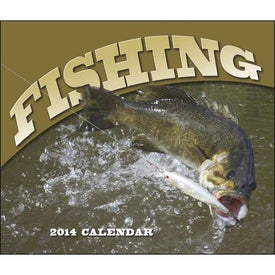 Branded Fishing - Stapled Calendar