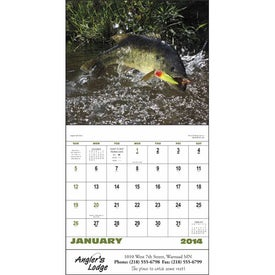 Fishing - Stapled Calendar for Marketing