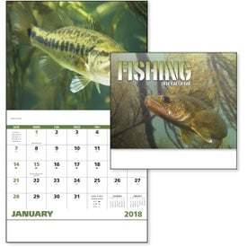 Fishing - Stapled Calendar for Your Church