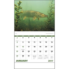 Custom Fishing - Stapled Calendar