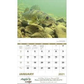 Giveaway Fishing Calendars 2022 Stapled Calendars Wall Calendars