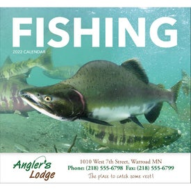 Fishing - Stapled Calendar