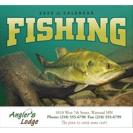 Fishing - Stapled Calendar (2020)