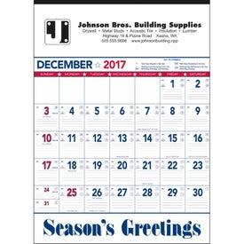 Flag Contractor Memo Calendar for Advertising