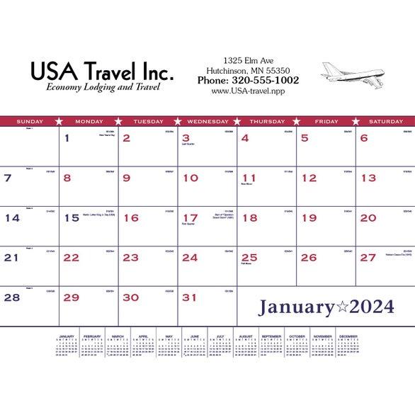 Custom Calendars Quality Logo Products