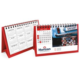 Flip Calendar with Image Personalization (Short)