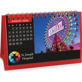 Flip Calendar with Image Personalizations (2021, 5.5