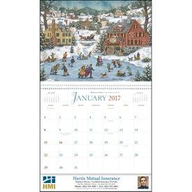 Customized Folk Art Appointment Calendar