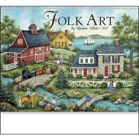 Custom Folk Art Appointment Calendar