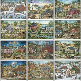 Promotional Folk Art Appointment Calendar