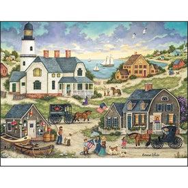 Custom Folk Art Appointment Calendar