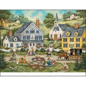 Folk Art Appointment Calendar for Marketing