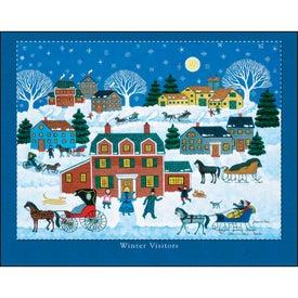 Branded Folk Art Stapled Calendar
