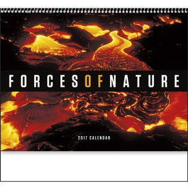 Forces of Nature Appointment Calendar Printed with Your Logo